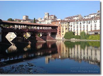 Bassano del Grappa, Bassano, Ponte degli Alpini, Ponte Vecchio, BASSANO